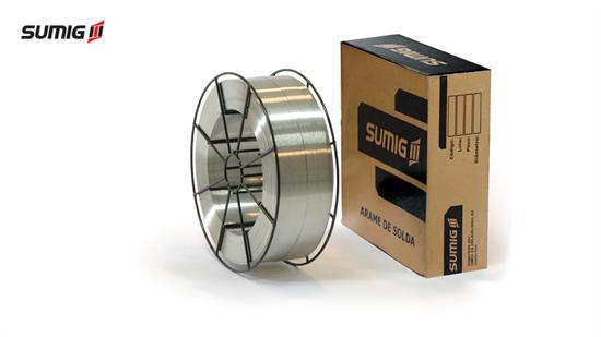 Arame MIG/MAG para Soldagem do Alumínio AWS A5.10 ER 5356 (7kg)