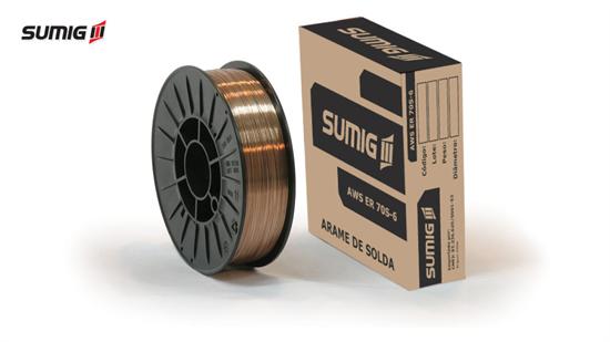 Arame MIG/MAG Aço Carbono AWS A5.18 ER70S-6 (5kg)