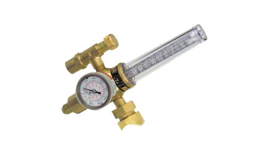Regulador de Gás com Fluxômetro para Argônio e CO2