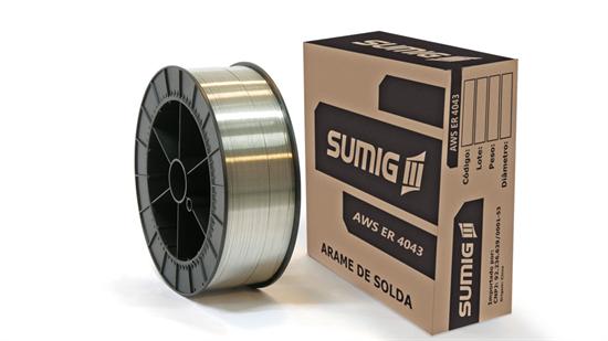 Arame MIG/MAG Alumínio AWS A5.10 ER4043