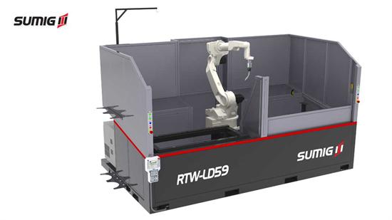 Célula de Solda Robotizada RTW LD-59