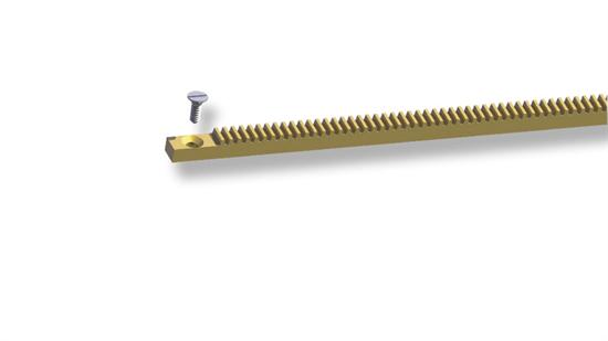 Ratchet with screw