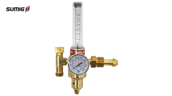 Argon and CO2 Regulator with Flowmeter