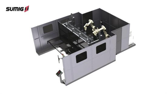 Célula de Solda Robotizada Intelicélula Customcell