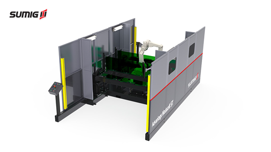Advantage Moducell Robotic Welding Cell