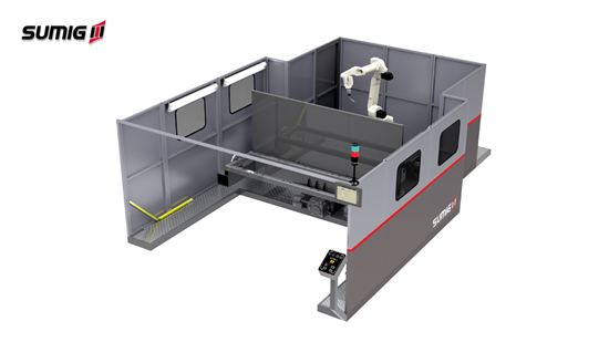 Revocell LD-2500V - Célula de Soldagem Robotizada