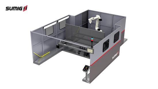 Revocell LD-2500V - Celda de Soldadura Robotizada