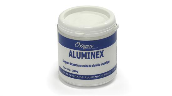 Fluxo para soldagem do alumínio