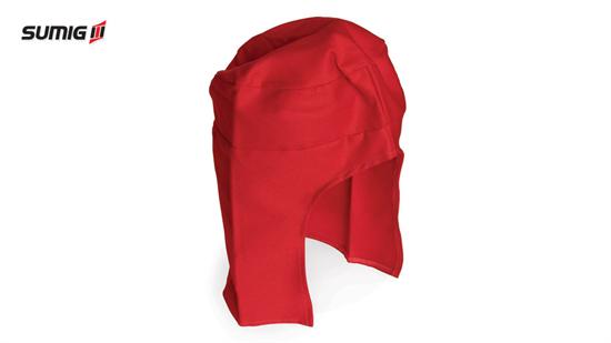 Touca de Pano para Soldador Vermelha