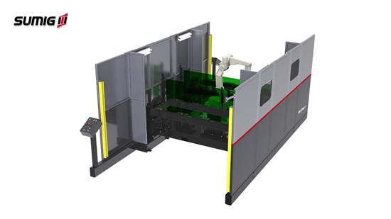 Moducell PD-2000 - Célula de Soldagem Robotizada