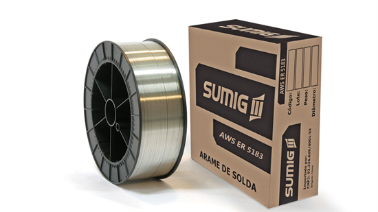 Arame MIG/MAG Alumínio AWS A5.10 ER 5183