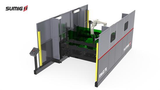 Célula de Solda Robotizada RTW ST-78