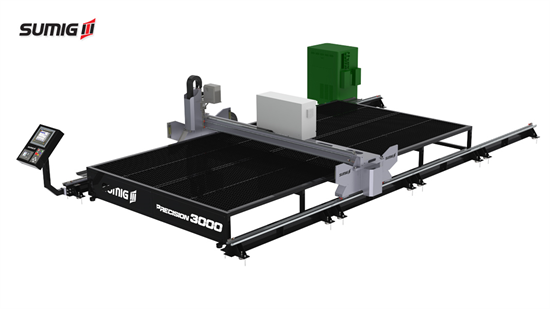 CNC Plasma Cutting Table Precision Series