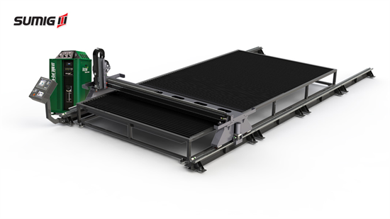 Mesa de Corte Plasma CNC - Ar Comprimido