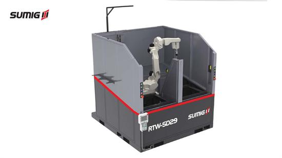 Célula de Soldagem Robotizada RTW SD-29
