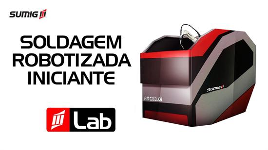 Soldagem Robotizada Iniciante para Laboratórios