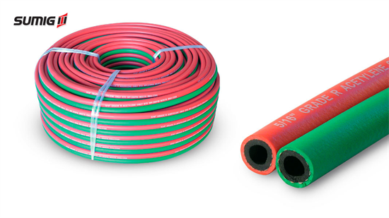 Twin Hoses 5/16'' for Welding/Cutting