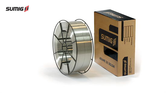 Arame MIG/MAG Alumínio AWS A5.10 ER4043 (7kg)