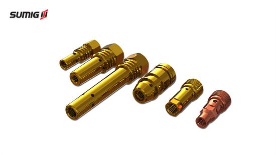 Difusores de Gás para Tochas MIG/MAG