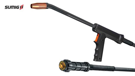 Tocha MIG/MAG SU 322 Tipo Pistola