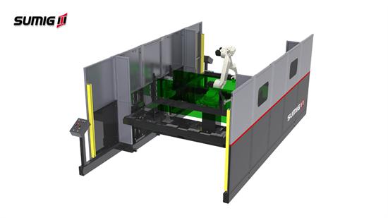 Moducell LD-3000 - Célula de Soldagem Robotizada