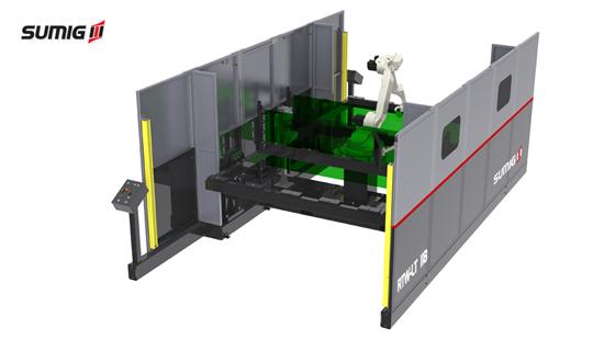 Célula de Solda Robotizada RTW LT-118