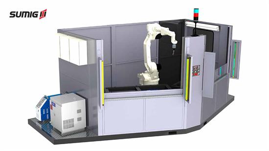 Célula de Solda Robotizada Advantage Anglecell AL