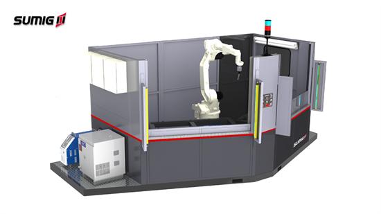Anglecell LD-1500 - Célula de Soldagem Robotizada